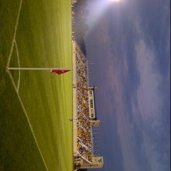 Photo taken at Dick Dlesk Soccer Stadium by Matt S. on 9/2/2011