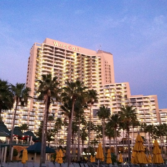 Photo taken at Marriott World Center Pool by Michael W. on 1/9/2012