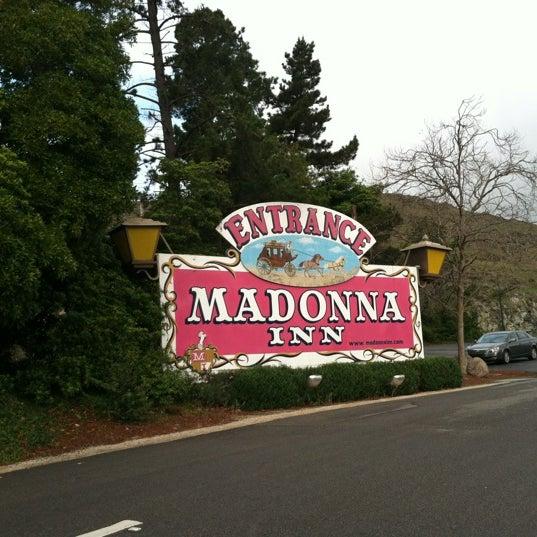 Photo taken at Madonna Inn by Miri K. on 2/11/2012