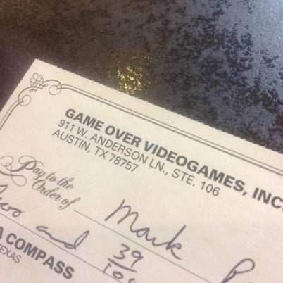 Photo taken at Game Over Videogames by Karen P. on 7/25/2012