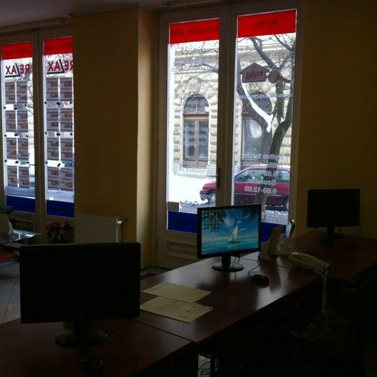 Photo taken at RELAX Ingatlanpiac, Szeged by Attila R. on 2/17/2012