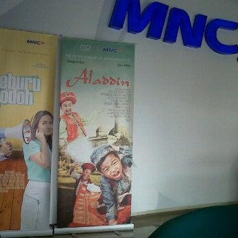 Photo taken at MNCTV by Uly*yuLianaBpuTri* on 5/3/2012