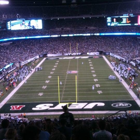 Photo taken at MetLife Stadium by Bruce B. on 9/2/2011