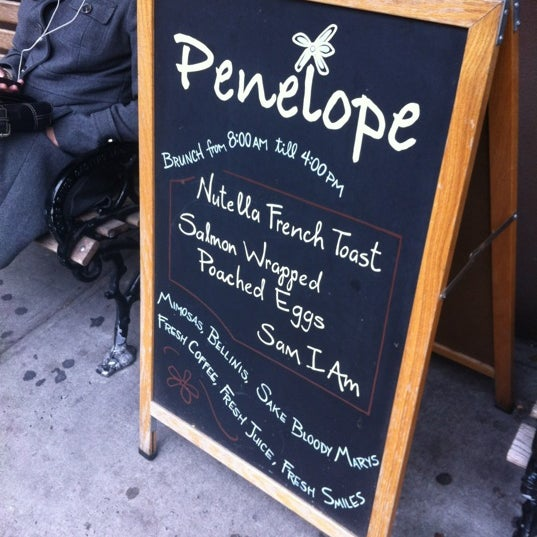 Photo taken at Penelope by Nicole M. on 3/25/2012