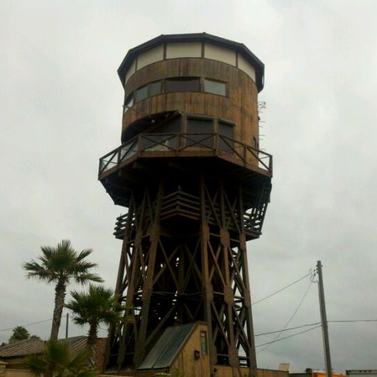 Photo Taken At Sunset Beach Water Tower By Vincent A On 6 12