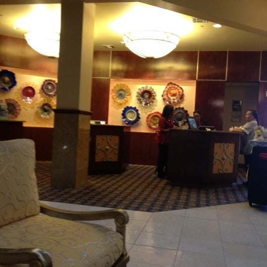 Photo taken at Houston Marriott South at Hobby Airport by Trisha B. on 11/11/2011