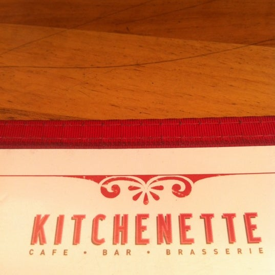 Photo taken at Kitchenette by Halit B. on 5/6/2012