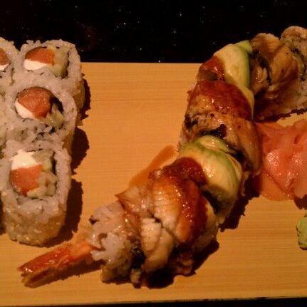 Photo taken at Wasabi Steakhouse & Sushi Bar by Rosita D. on 1/13/2012