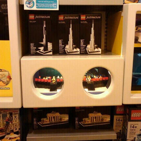 Photo taken at The LEGO Store by James W. on 9/17/2011
