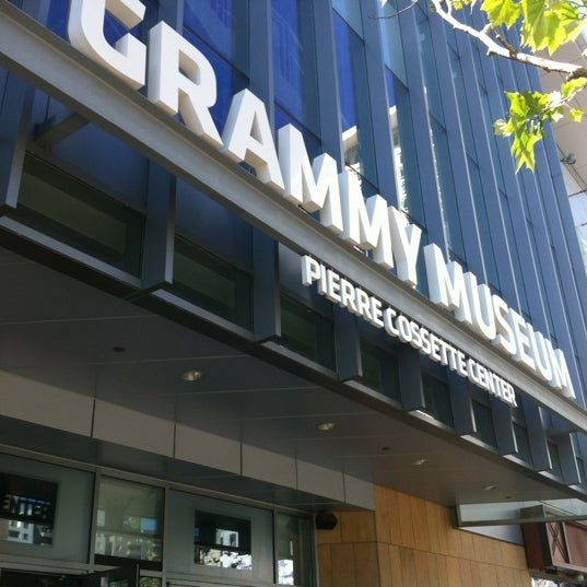 Photo taken at The GRAMMY Museum by Dave C. on 4/1/2012