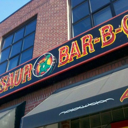 Photo taken at Dinosaur Bar-B-Que by Jason S. on 11/12/2011