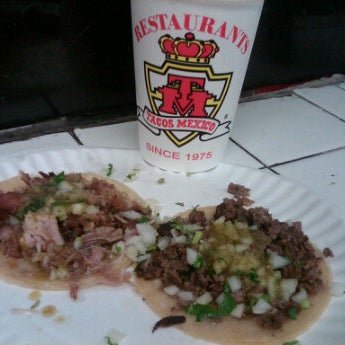 Photo taken at Javier's Tacos Mexico by Victoria O'Malley Photography on 1/1/2012
