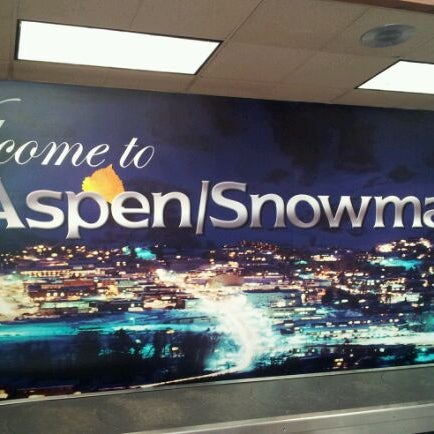 Photo taken at Aspen/Pitkin County Airport (ASE) by Miche M. on 1/25/2012