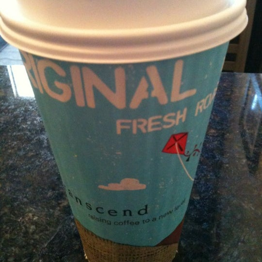 Photo taken at Transcend Coffee by Neil G. on 3/31/2012