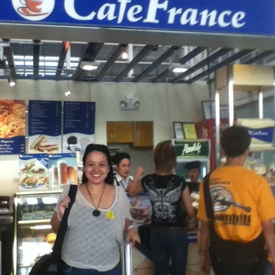 Photo taken at Café France by Hunny N. on 7/1/2012