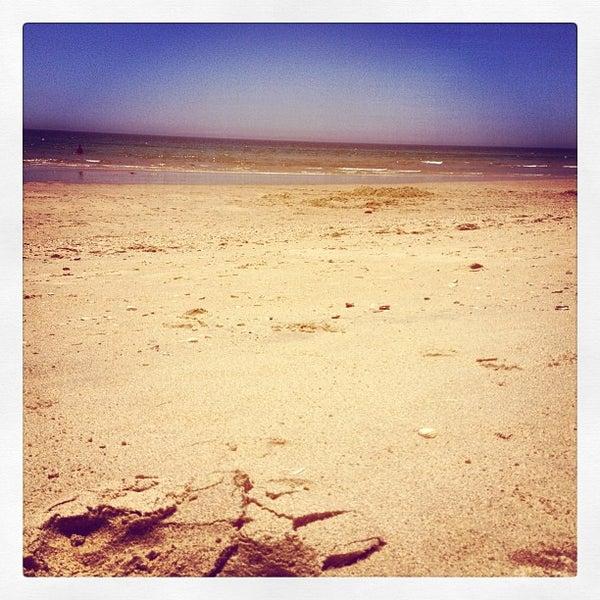 Photo taken at Praia do Barril by Nuno P. on 6/10/2012