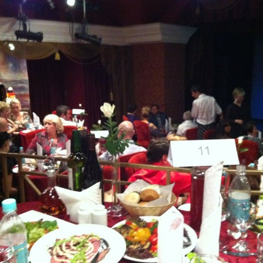 Снимок сделан в Театр-кабаре на Коломенской/ The Private Theatre and Cabaret пользователем Саша В. 9/2/2012