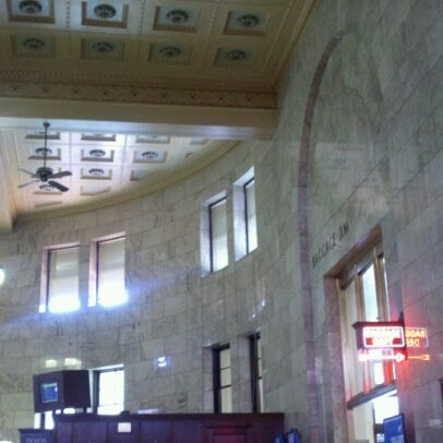 Photo taken at Union Station Amtrak (PDX) by Sarah M. on 8/11/2012