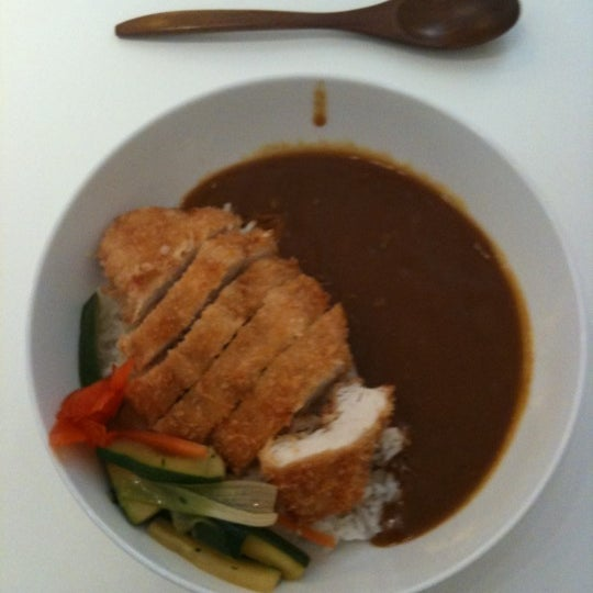 The Katsu Curry is amazing - it is highly recommended!