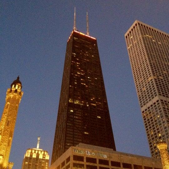 Photo taken at John Hancock Center by Nathan J. on 2/11/2012