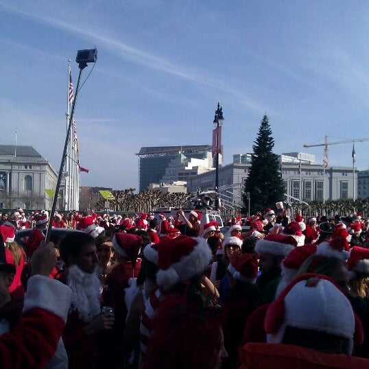 Photo taken at Civic Center/UN Plaza BART Station by Holden K. on 12/10/2011