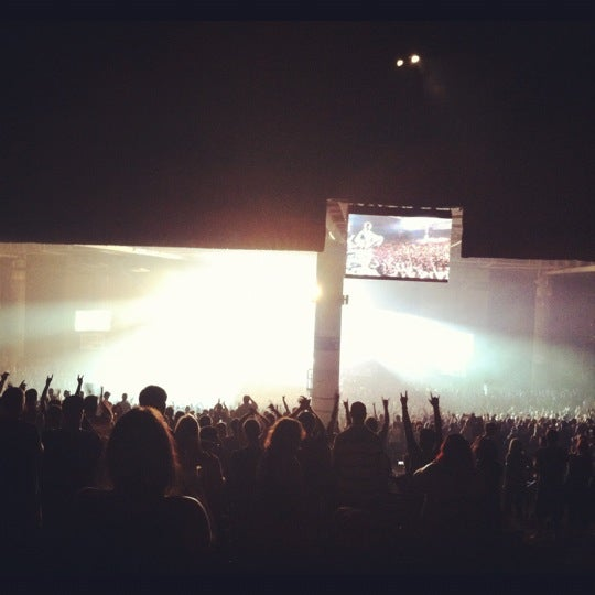 Photo taken at Xfinity Center by Alice C. on 8/15/2012