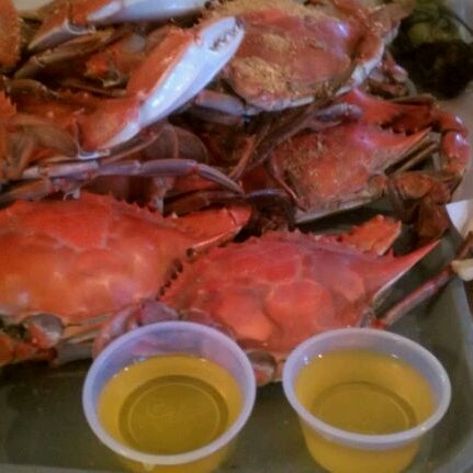 Photo taken at May's Crab & Seafood by Gary B. on 6/25/2011