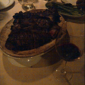 Photo taken at Rothmann's Steakhouse by Hiro T. on 1/19/2012