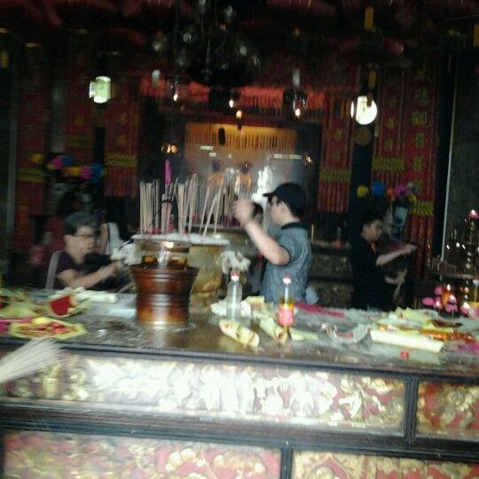Photo taken at Kuan Yin Temple (觀音亭 Goddess of Mercy) by Wilsonn H. on 11/7/2011