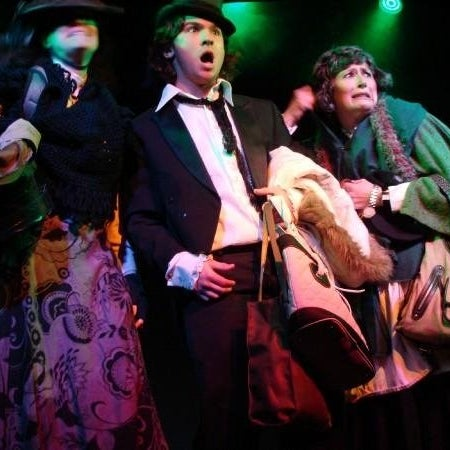 A Christmas Carol thru December 18.  Fridays & Saturdays at 8pm, Sundays at 3pm.  Family-friendly musical version that is interactive and loads of fun!  Tickets are $15-10.