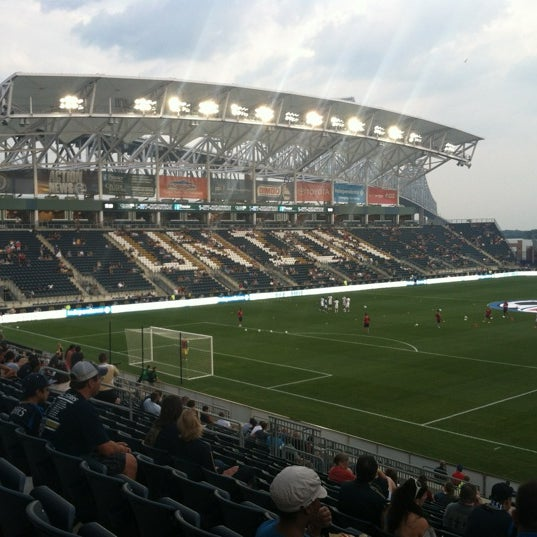 Photo taken at Talen Energy Stadium by Shannon P. on 8/24/2012