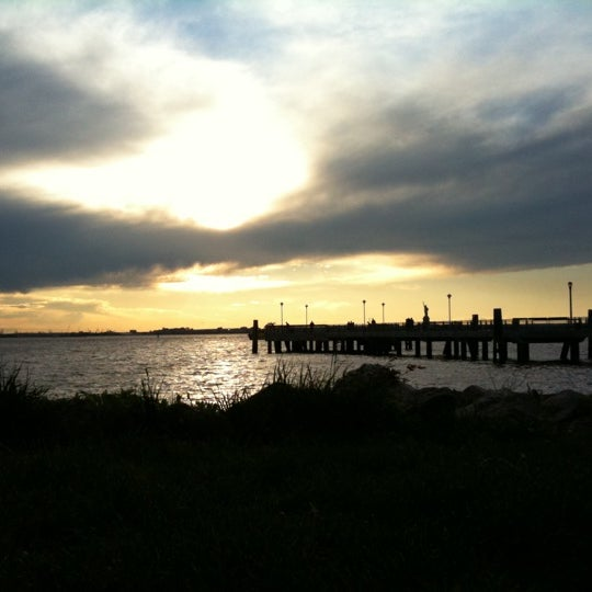 Photo taken at Louis Valentino Jr Park & Pier by Patrick on 5/7/2011