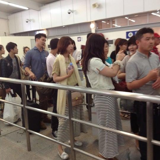 Photo taken at Taipa Ferry Terminal by PICHIT J. on 5/20/2012