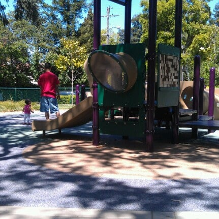 Photo taken at Burton Park by Danie on 6/9/2012