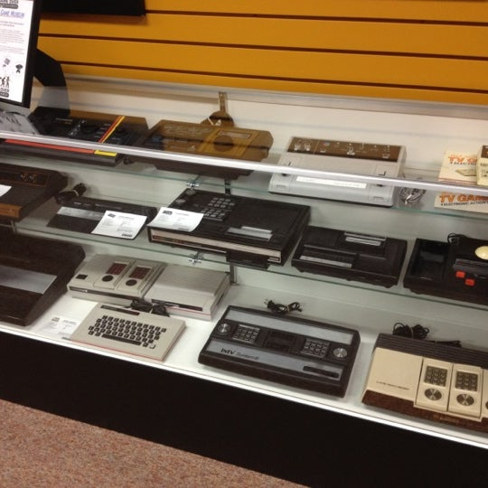 Wow.  Retro games...  Rad to the max!  :). It's like a museum you can spend money at.