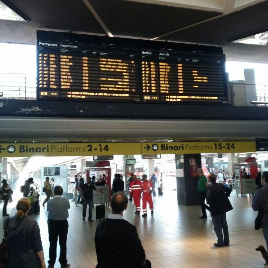 Photo taken at Napoli Centrale Railway Station (INP) by Alexander M. on 5/1/2012