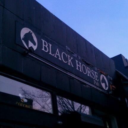 Photo taken at Black Horse Pub by Stan K. on 11/20/2011