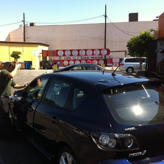 Photo taken at Handy J Car Wash by Champin C. on 10/3/2011