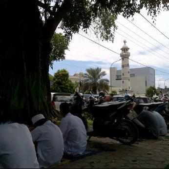 Photo taken at Masjid Jami' Kauman Pekalongan by Ahmad M. on 4/6/2012
