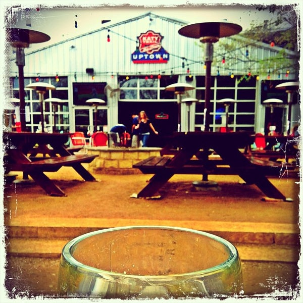 Photo taken at Katy Trail Ice House by Erica R. on 3/13/2012