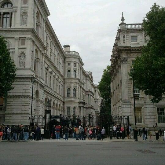 Photo taken at 10 Downing Street by Davide B. on 8/18/2011
