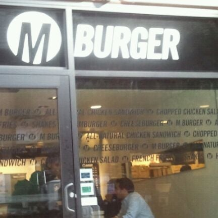 Photo taken at M Burger by Dale G. on 9/30/2011