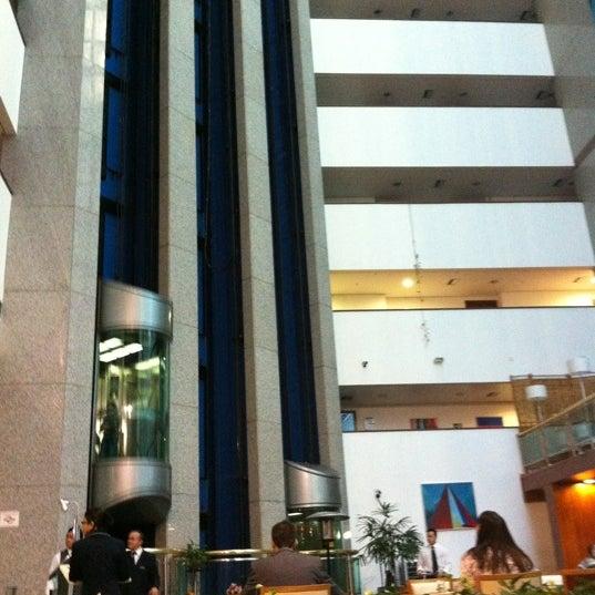 Muito bonita a área interna do hotel
