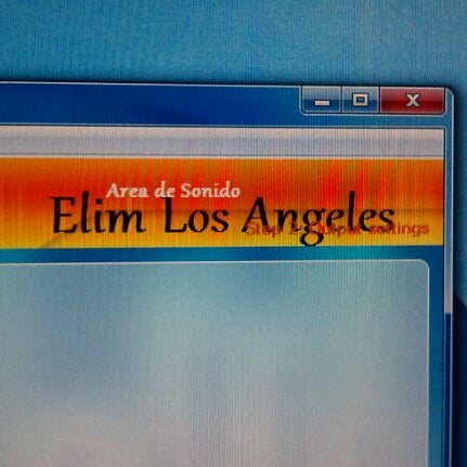 Photo taken at ELIM Central Los Angeles by Juan R. on 2/3/2012