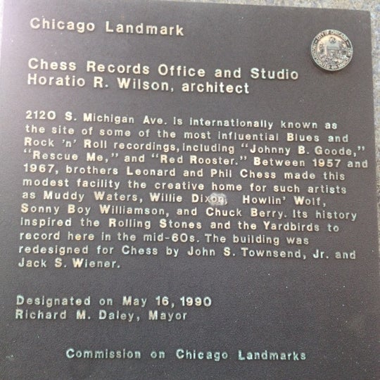 Photo taken at Willie Dixon's Blues Heaven Foundation, Historic Site of Chess Records by Katherine on 3/17/2012
