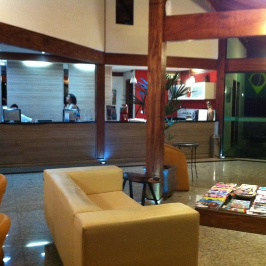 Photo taken at Hotel Coquille - Ubatuba by Luciano C. on 2/28/2012
