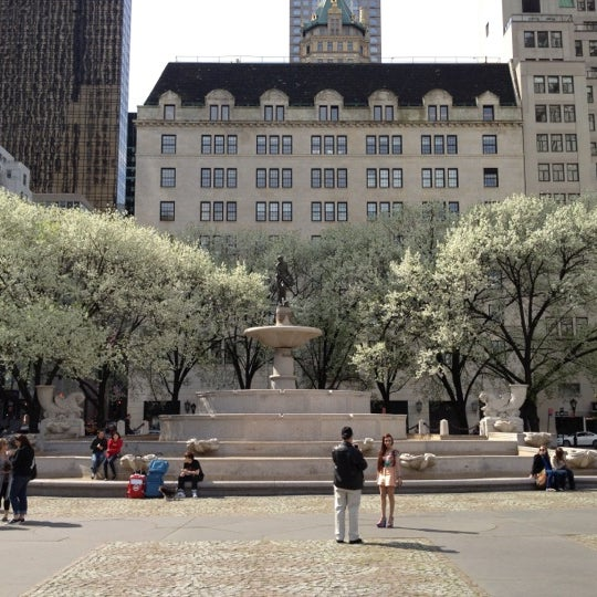 Photo taken at Grand Army Plaza by Adrian M. on 3/24/2012