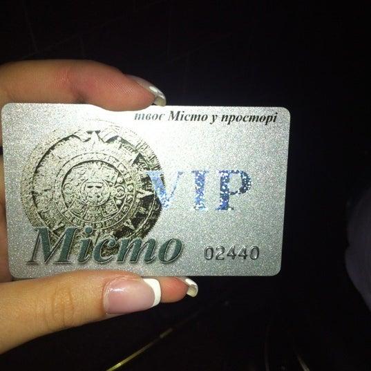 Снимок сделан в Клуб «Місто» / Misto Club пользователем Виолетта Б. 9/8/2012