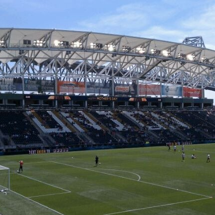 Photo taken at Talen Energy Stadium by TJ R. on 5/13/2012