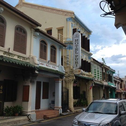 Photo taken at Hotel Puri by Derek L. on 5/30/2012